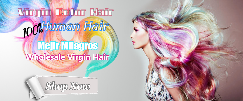Virgin Hair colored Bundle