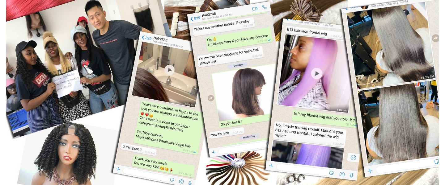 Frontal/Closure  Wigs