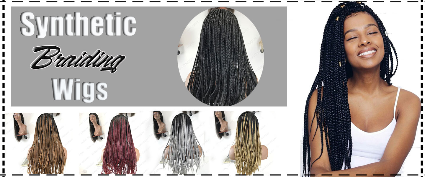 Synthetic Braiding Wig